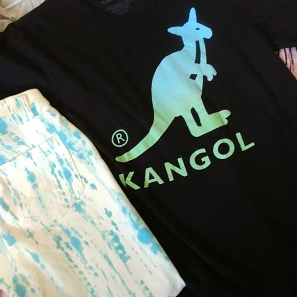 c5efcbd0 Kangol Tops | Aqua Blackgreen Accent Outfit 2pc | Poshmark